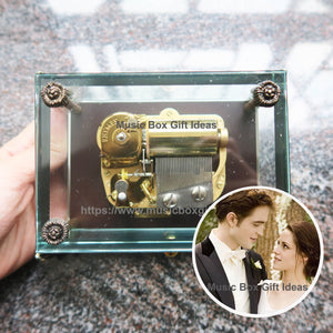 Twilight A Thousand Years from Christina Perri 30-Note Wind-Up Music Box Gift (Glass) - Music Box Gift Ideas