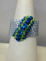 Peyote Wave Ring