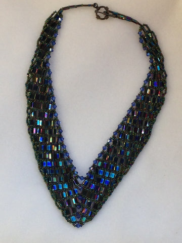 Tila & Crystal Necklace