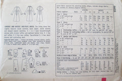 Simplicity 6625 Women's 60s A-Line One Piece Dress Sewing Pattern Bust 34 - Great Sewing Patterns - 2