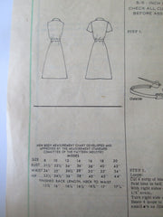 Mail Order 4886 Women's 80s Shirt Waist Dress Sewing Pattern Size 14 Bust 36 - Great Sewing Patterns - 3