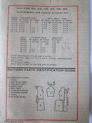 Mail Order 4545 Women's 60s Front Button Panel Dress Sewing Pattern Bust 37 - Great Sewing Patterns - 4