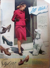 McCall's Vintage Magazine October 1944 - Great Sewing Patterns - 10