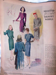 McCall's Vintage Magazine October 1944 - Great Sewing Patterns - 11