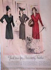 McCall's Vintage Magazine October 1944 - Great Sewing Patterns - 12