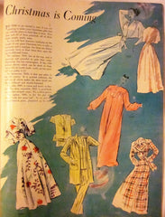 McCall's Vintage Magazine November 1947 - Great Sewing Patterns - 11