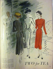 McCall's Vintage Magazine November 1947 - Great Sewing Patterns - 5