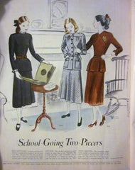 McCall's Vintage Magazine November 1947 - Great Sewing Patterns - 6