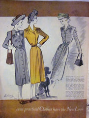 McCall's Vintage Magazine November 1947 - Great Sewing Patterns - 10