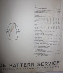 Vogue's Basic Dress 1799 Women's 60s One-Piece Shirt Dress Sewing Pattern Size 10 Bust 31 - Great Sewing Patterns - 3
