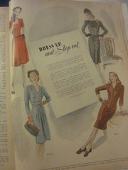 McCall's Vintage Magazine September 1944 - Great Sewing Patterns - 9