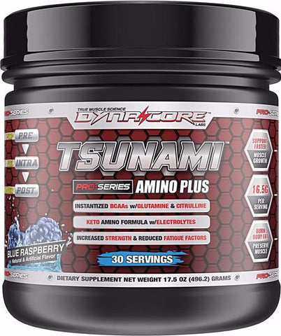 Dyna-Core Labs Tsunami Amino Plus BCAA Powder