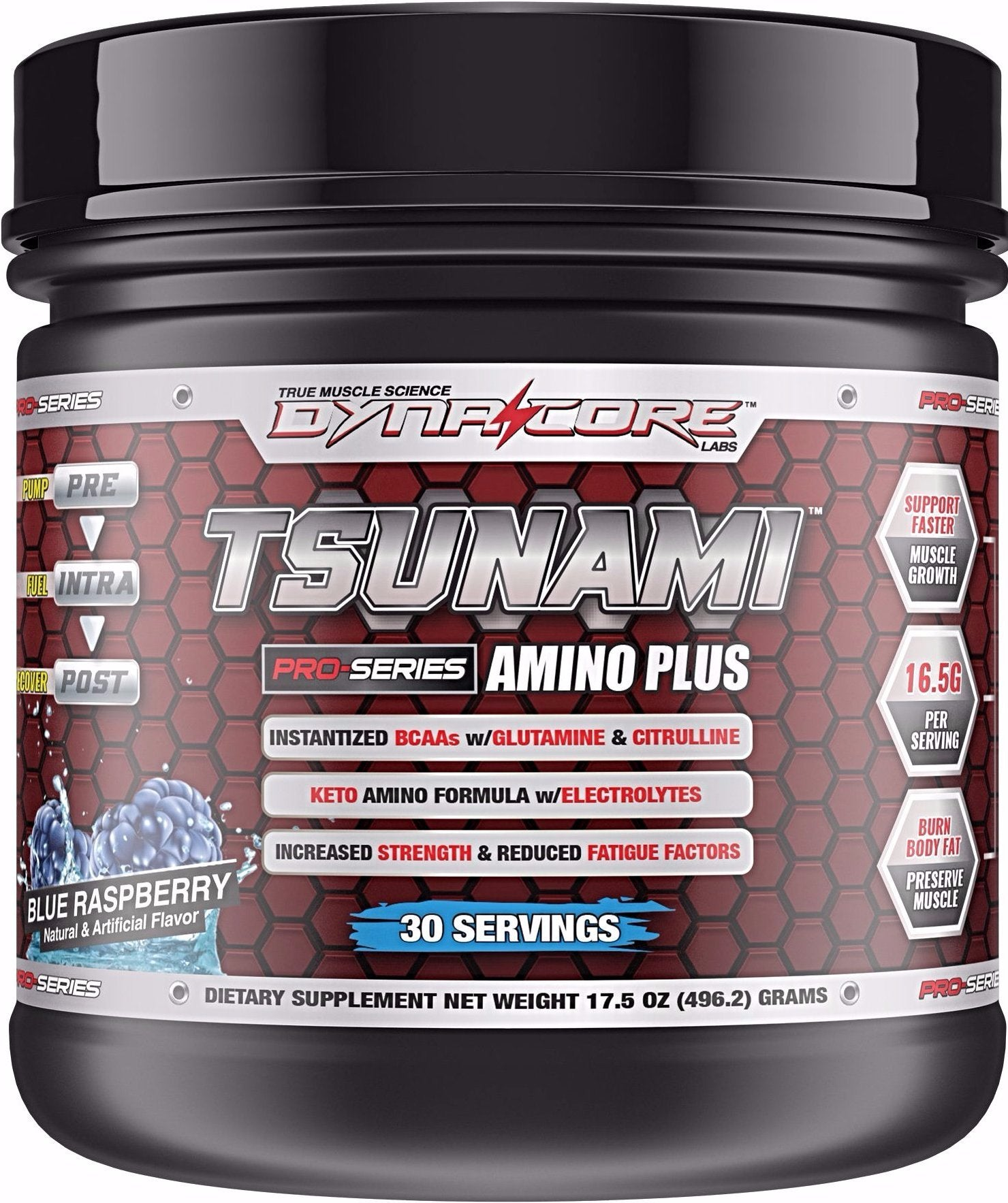 Dyna-Core Labs - Tsunami Amino Plus - Blue Raspberry