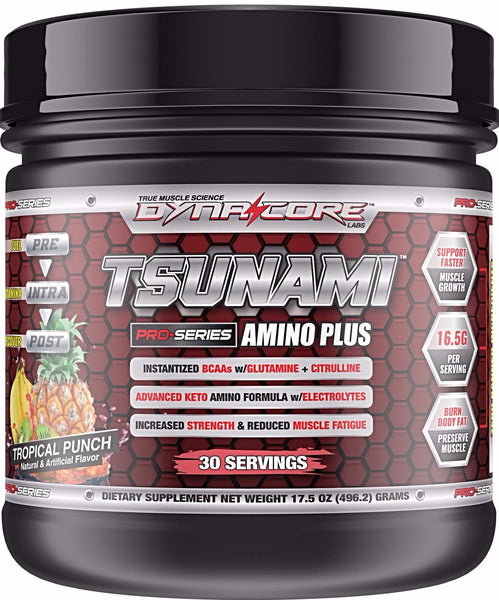 Tsunami Amino Plus With Scoopie