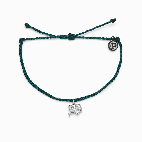 Pura Vida On the Road Charm Bracelet in Teal