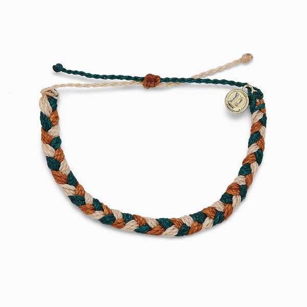 Pura Vida Multi Braided Bracelet in Peak