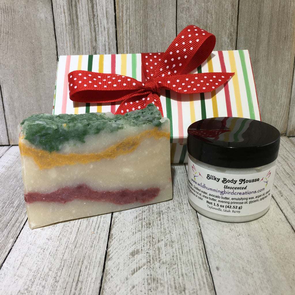Soap and Mousse Gift Box