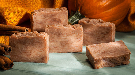 Pumpkin Spice Scented Soap