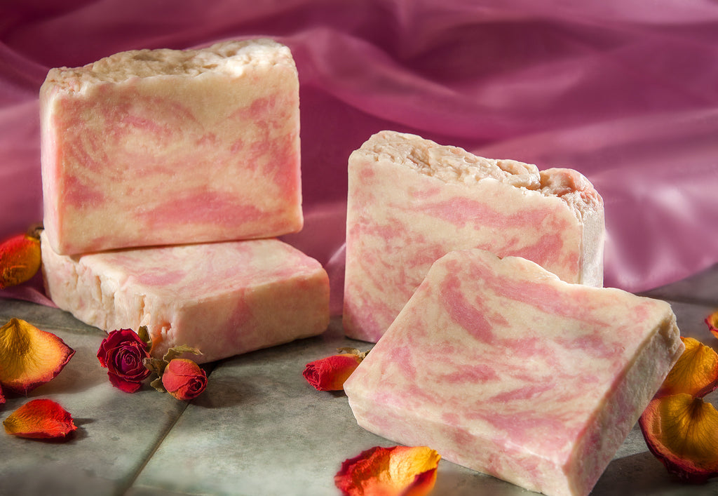 Fresh Rose Scented Soap