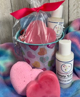 Valentine Bath and Body Pail