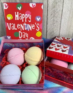 Valentine's Day Box of Bath Bombs