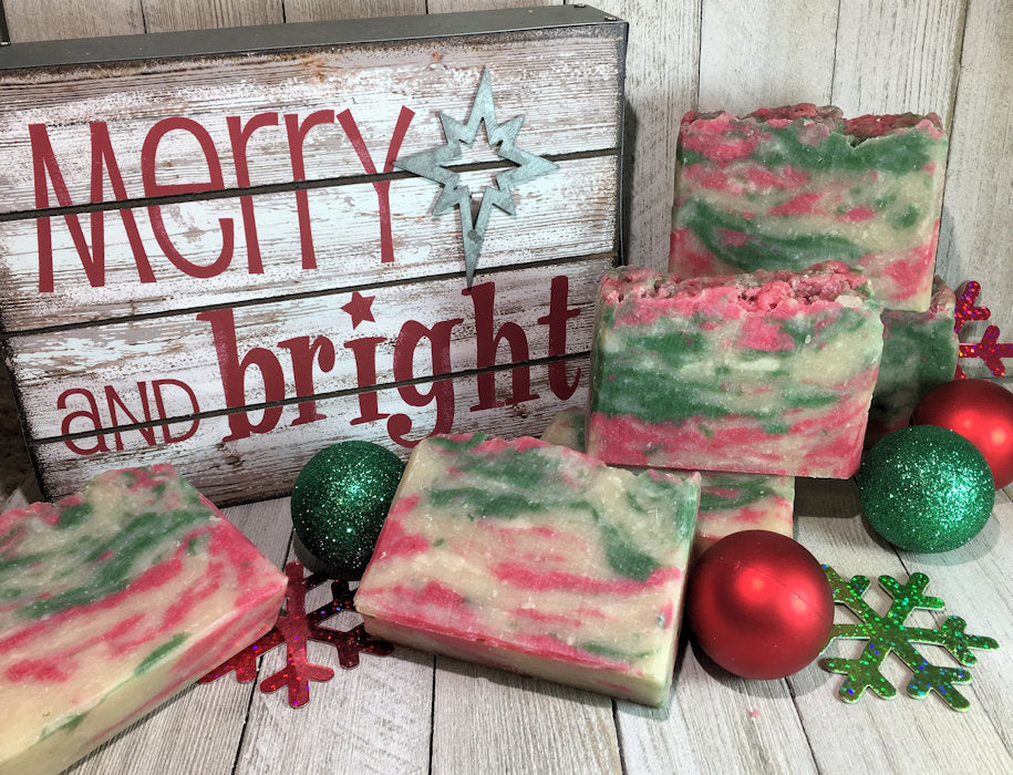 Holiday Cheer Artisan Soap