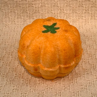 Pumpkin Bubbling Bath Bombs