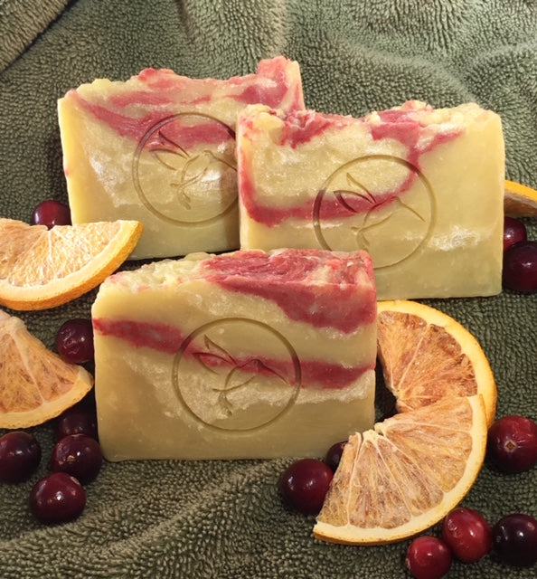 Spiced Cranberry Artisan Soap