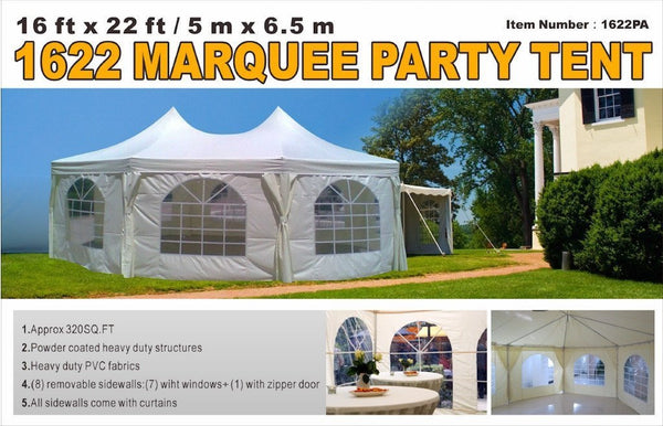 16' x 22' Marquee Party Tent