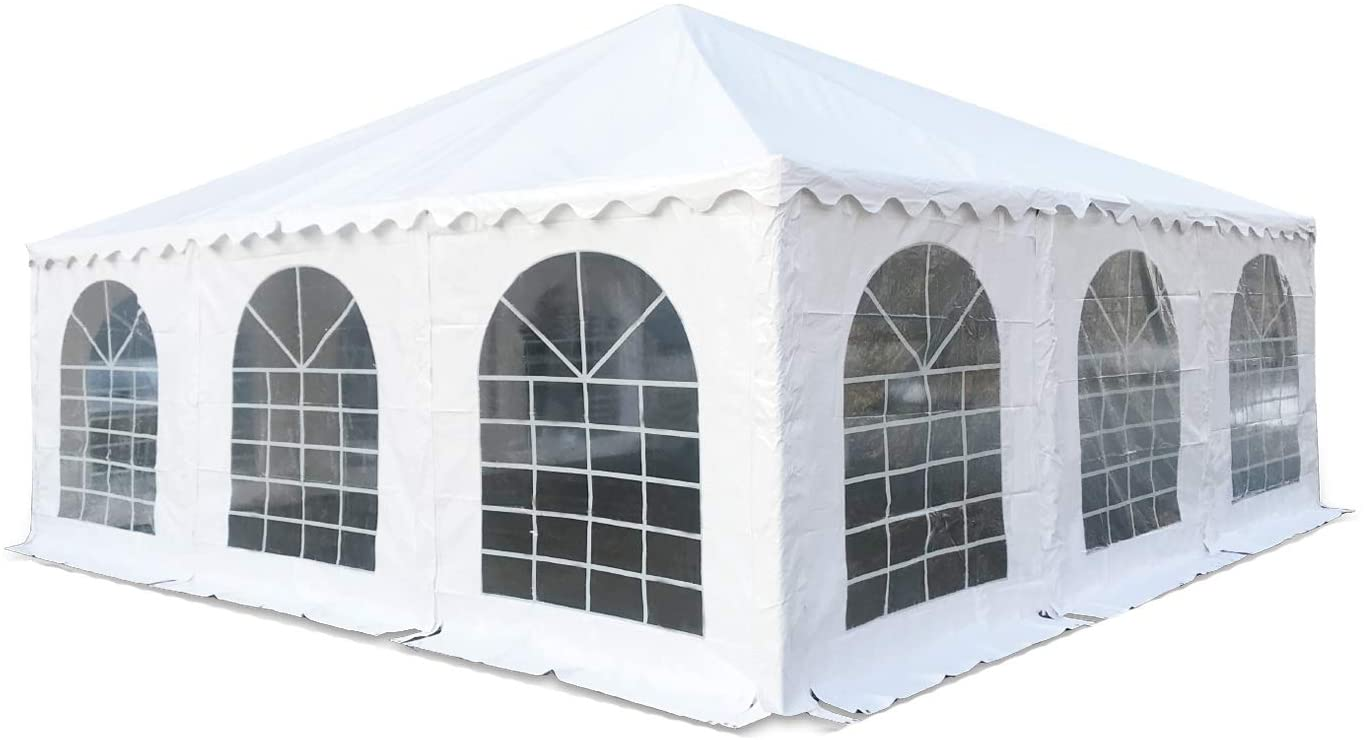 23' x 23' Outdoor Pagoda Marquee Party Tent with Commercial Grade 17oz PVC Fabric