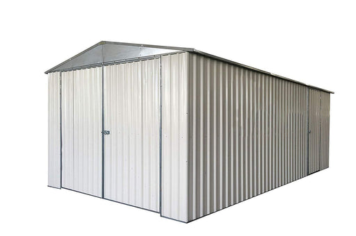 11' X 19' Metal Garage Shed by TMG Industrial