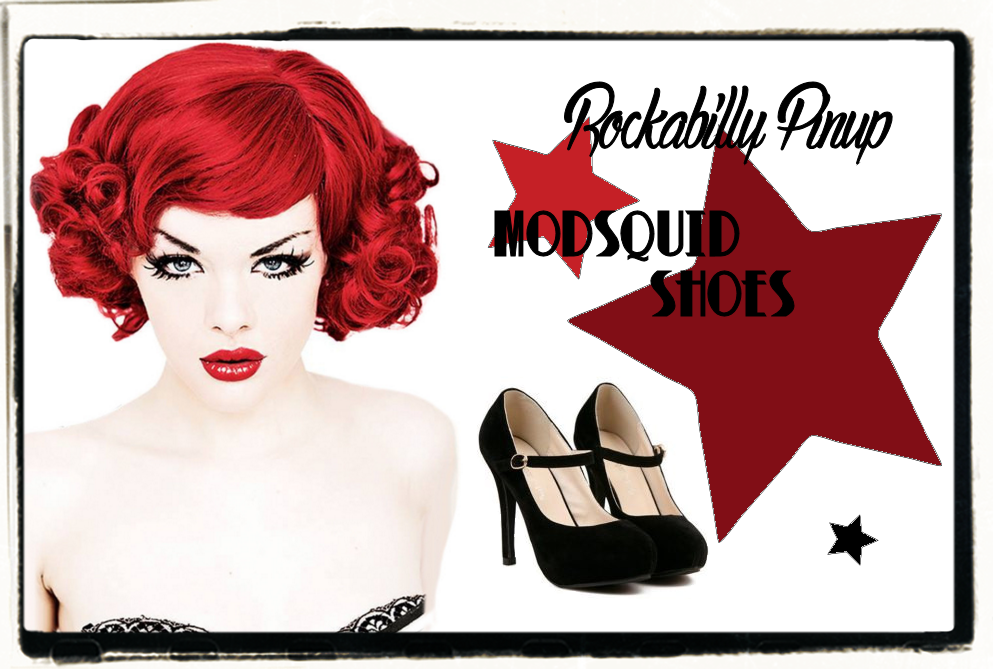 MODSQUID Retro Rockabilly Pinup Shoes & Boots