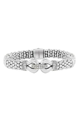 'Derby' Caviar<sup>u2122</sup> Diamond Rope Bracelet (Online Only) - Alternative Measures