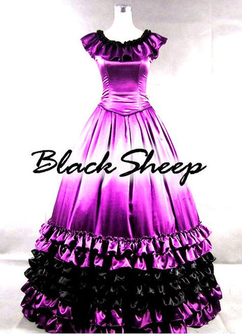 ! Black Sheep Bride Gothic Steampunk Alternative Formal Prom Gown Wedding Dress - Brides & Bridesmaids - Wedding, Bridal, Prom, Formal Gown - Alternative Measures