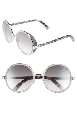 'Andies' 54mm Round Sunglasses - Alternative Measures
