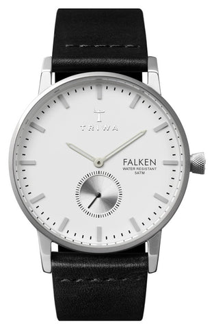 'Falken' Leather Strap Watch, 38mm - Alternative Measures