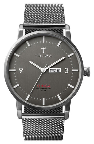 'Klinga' Mesh Strap Watch, 38mm - Alternative Measures