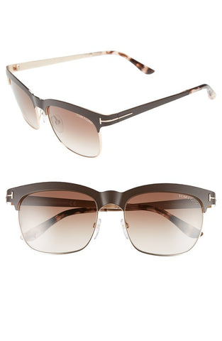 'Elena' 54mm Retro Polarized Sunglasses - Alternative Measures