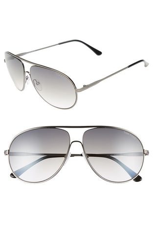 'Cliff' 61mm Aviator Sunglasses - Alternative Measures