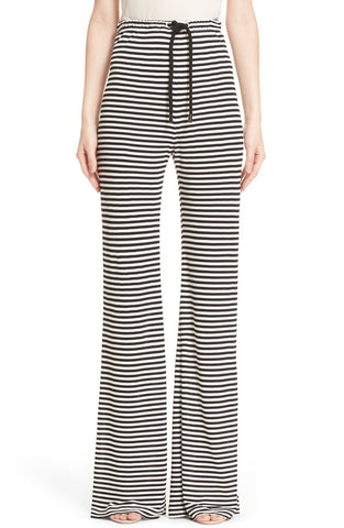 'Gargano' Stripe Flare Pants - Alternative Measures