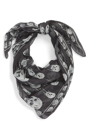 'Dripping Skulls' Scarf - Alternative Measures