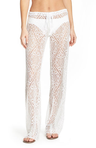 'Amore' Lace Swim Cover Up Pants - Alternative Measures