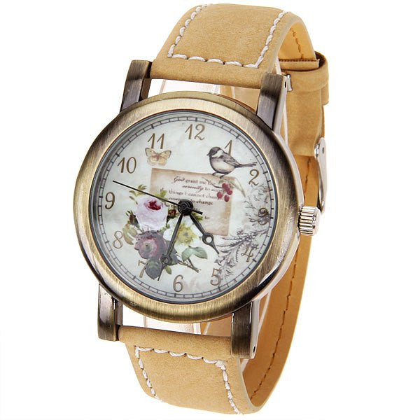 Vintage Style Little Birdies Collectible Watch - Alternative Measures -