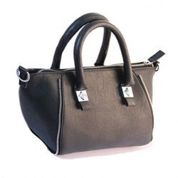Office Metallic and PU Leather Design Women's Tote Bag - Alternative Measures -