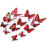 Decorative 3D Butterfly Wall Accents - Black - Alternative Measures