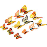 Decorative 3D Butterfly Wall Accents - Pink - Alternative Measures