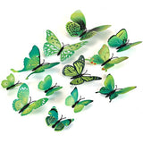 Decorative 3D Butterfly Wall Accents - White - Alternative Measures