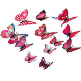 Decorative 3D Butterfly Wall Accents - Green - Alternative Measures