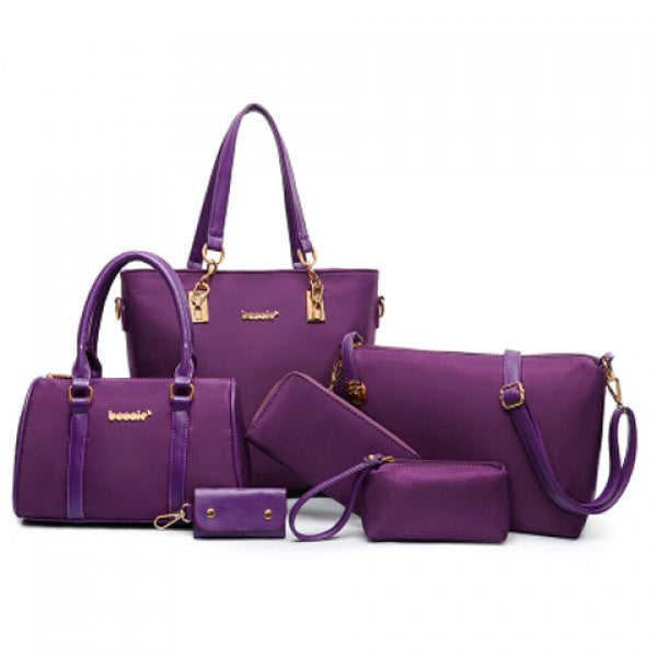 Full Matching Uptown Purse Set - Purple - Alternative Measures