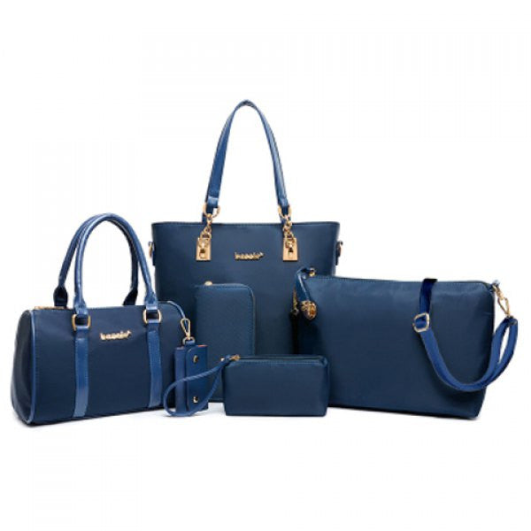 Full Matching Uptown Purse Set - Blue - Alternative Measures